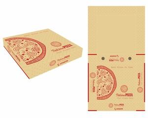 Single Color Pizza Box