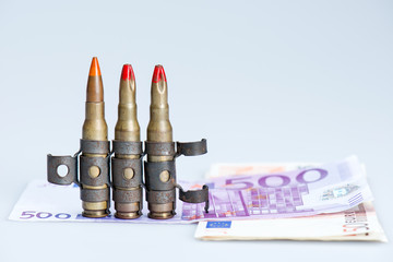 small vest rifle bullets with money
