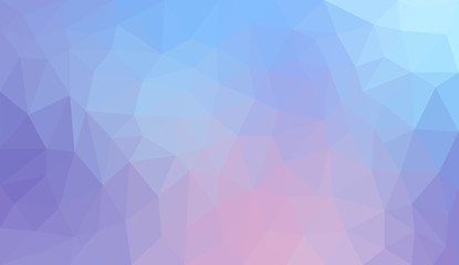 Gradient abstract polygon background
