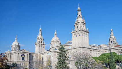 National Museum in Barcelona, Spain.