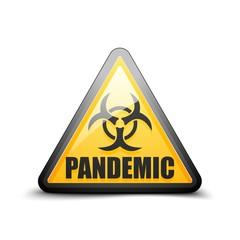 Pandemic Danger sign