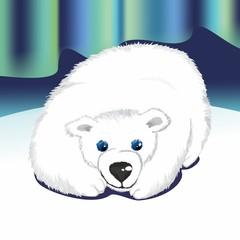 белый медведь (polar bear)