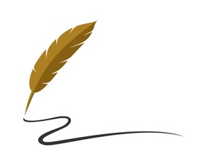 Feather Pen Logo 4