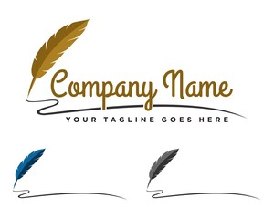 Feather Pen Logo 3