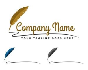 Feather Pen Logo 3