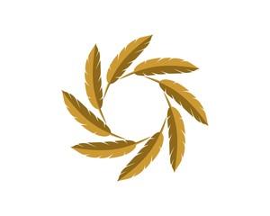 Feather Ornamental Logo