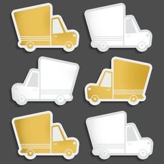 Van delivery vector set