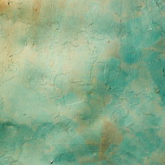 Painted metal plate background texture.