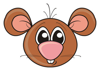 mouse, rodent,  brown, cheese,  treat, mousetrap, boy, face, head, mask, isolated, cartoon, toy, animal, pet, greeting