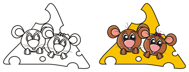 mouse, rodent, pest hole, whiskers, tail, teeth, squeaking, girl, brown, cheese, food, treat, isolated, cartoon, toy, animal, pet, greeting, mousetrap, coloring, paint, sample, sketch