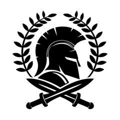 Spartan helmet.