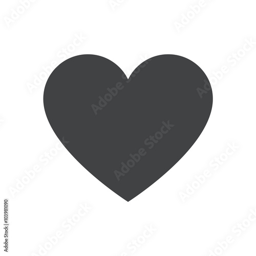 heart icon heart vector icon heart icon illustration stock image