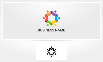 Social Teamwork Logo