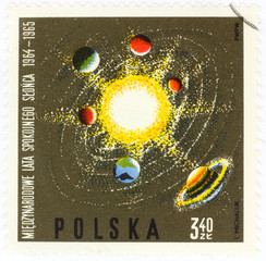 old polish postage stamp