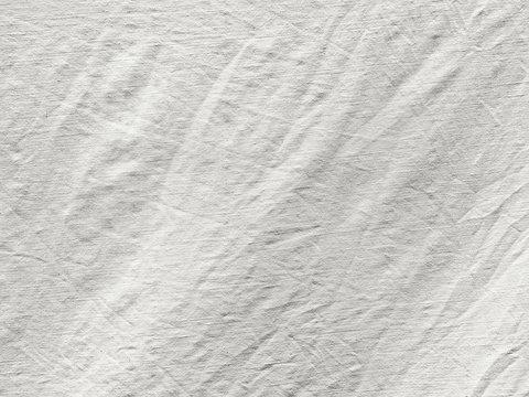 Coarse texture of crumpled white tissue
