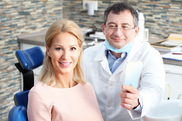 Visit at the dentist