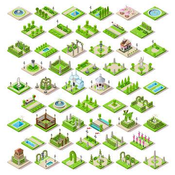 Game Set 13 Building Isometric