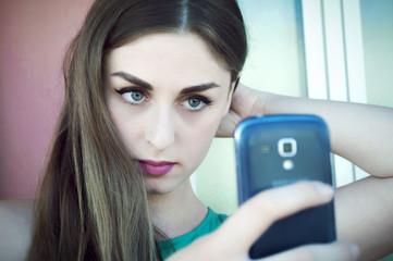 Selfie, social media, tecnologia.