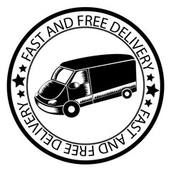 Fast and free delivery circle stamp