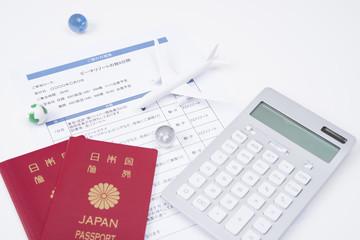 海外旅行の予算を立てる
