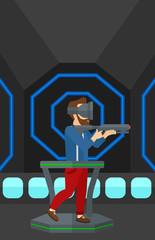 Full virtual reality.