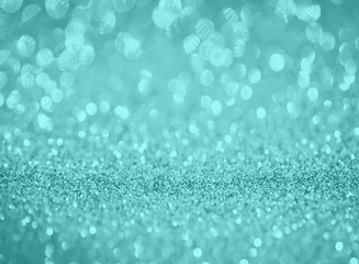 blue silver glitter bokeh texture abstract background