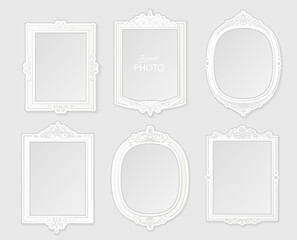 Patterned Photo Frame