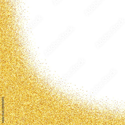 """""""Vector gold glitter abstract background, golden sparkles ..."""