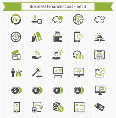Business Finance Icons - Set 3