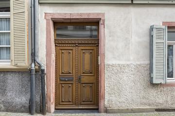 alte Haustür Holztür