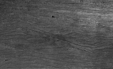 black old wall wood texture background