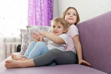 cute little girls home.