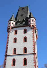 The Wood Tower Holzturm in German is a mediaeval tower and dates to the early 15th century