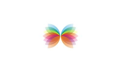 butterfly design logo
