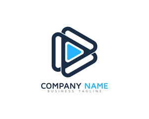 Video Loop Logo Design Template