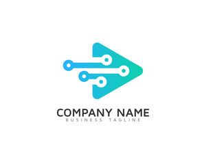 Video Digital Logo Design Template