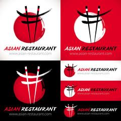 logo restaurant asiatique japonais
