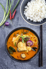 Thai Fisch Suppe