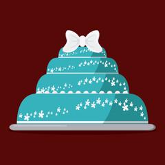 Cake icon design