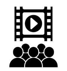 Cinema icon design