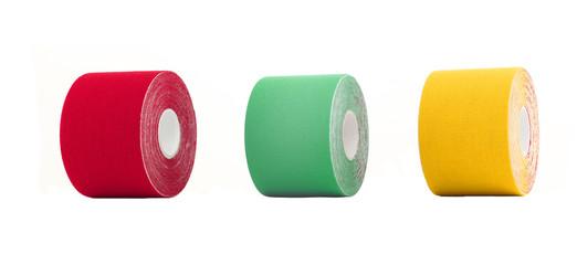 Therapeutic self adhesive tape.