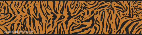 Background with Tiger skin