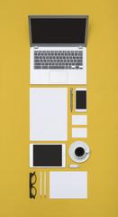 Letterhead and identity design template