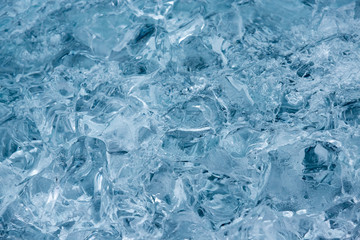 Abstract texture of ice