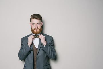 Portrait of a gentleman in studio