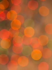 multi color Christmas light bokeh background