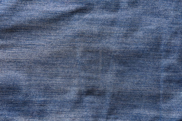 Blue denim jeans texture or background