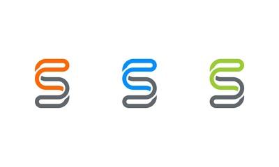 latter S logo