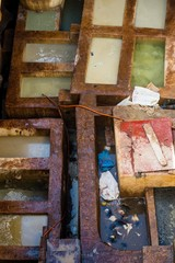 visiting the tanneries of fes