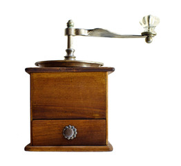 Old coffee mill with crank #3